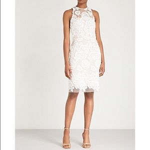 •REISS• Floral Embroidered Dress